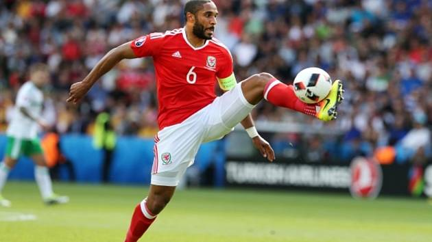 Ashley Williams z Walesu.