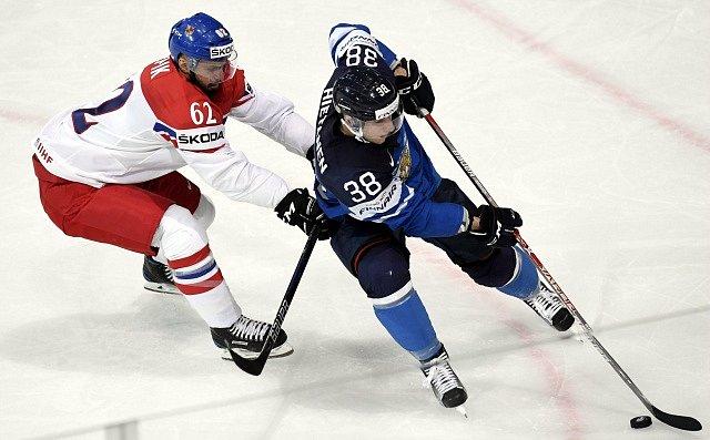 Český zápas proti finské reprezentaci skončil v základní hrací době 3:3.
