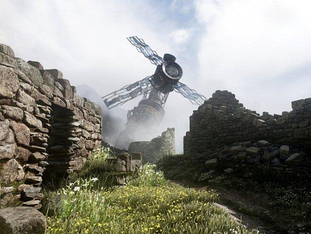 Počítačová hra Call of Duty: Ghosts.