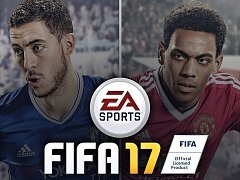 Počítačová hra FIFA 17.