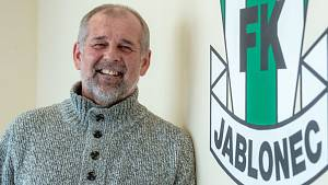 Trenér jabloneckých fotbalistů Petr Rada