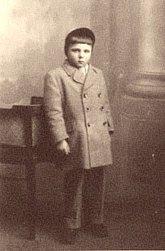 Josef Vávra jako dítě