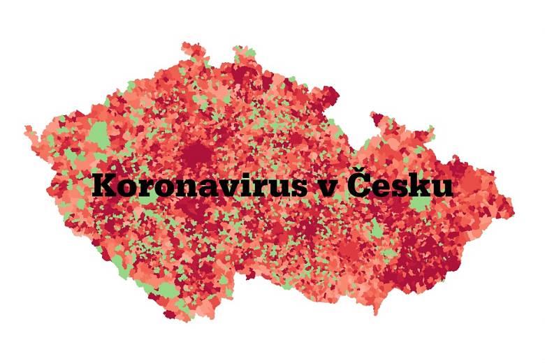 Covid-19 v českých okresech.