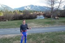 Martin Koukal trénoval v kanadském Whistleru.