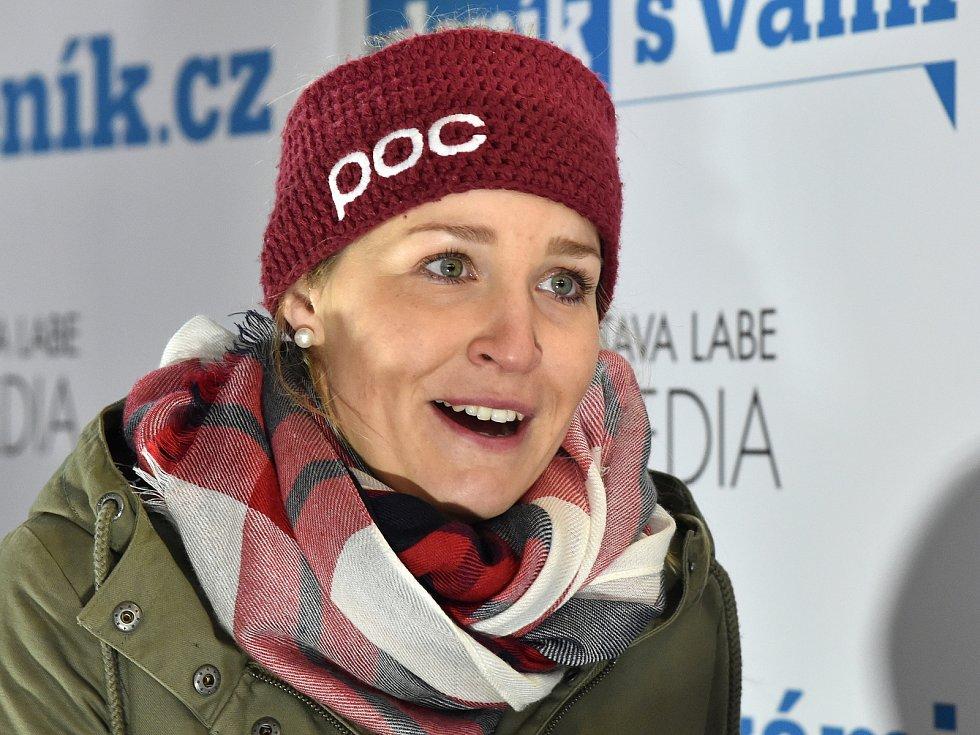 Lyžařka Tereza Kmochová