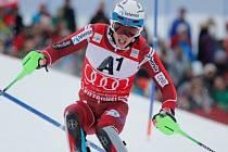 Slalomový král Henrik Kristoffersen nezaváhal ani v Kitzbühelu.