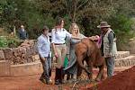 Melania Trumpová v Africe.