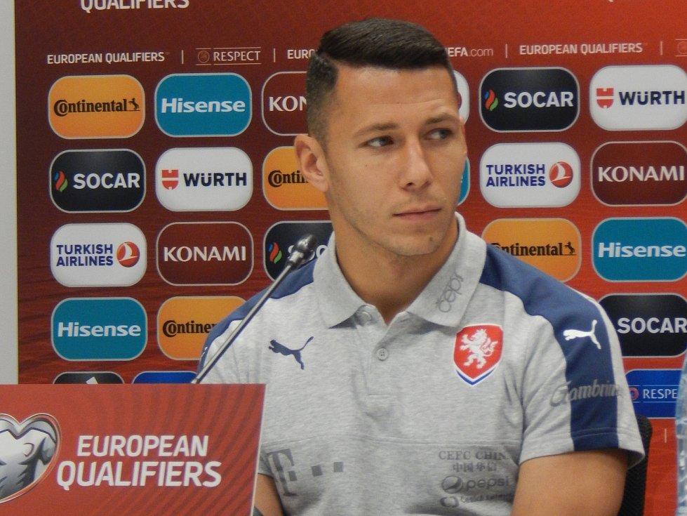 Kapitán fotbalové reprezentace Marek Suchý.