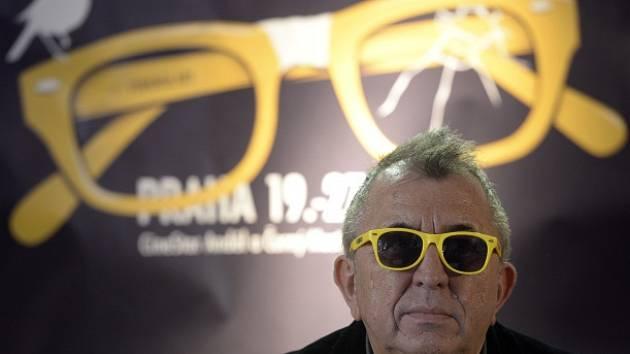 Prezident filmového festivalu Febiofest Fero Fenič se zúčastnil 10. března v Praze tiskové konference ke 22. ročníku festivalu.