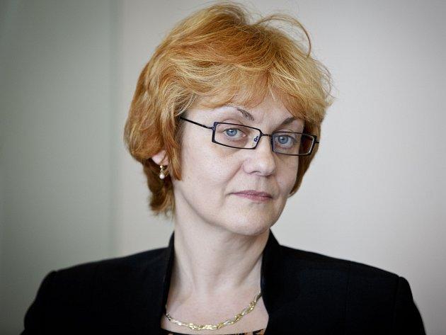 Ředitelka Ústavu pro studium totalitních režimů (ÚSTR) Pavla Foglová.