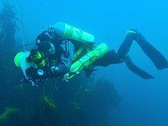 Potápěč. Ilustrační foto