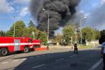 Požár v areálu Čepro