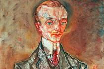 Markýz Joseph de Montesquiou-Fezensac, obraz Oskara Kokoschky