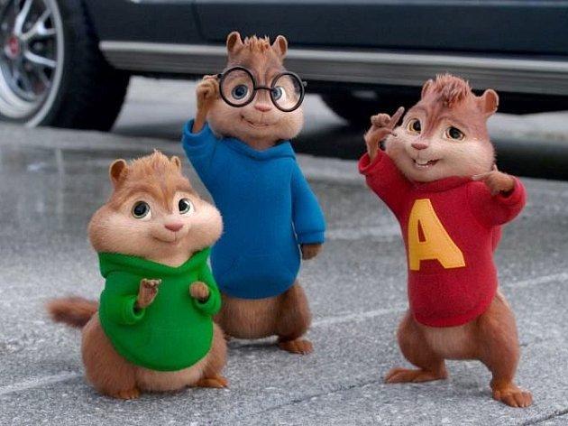 Alvin a Chipmunkové: Čiperná jízda.
