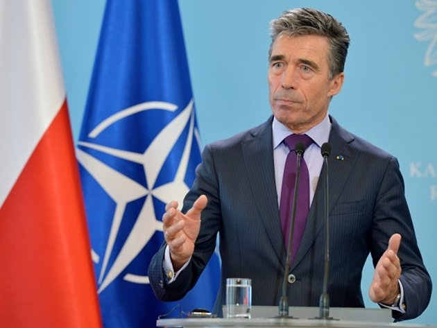 Generální tajemník NATO Anders Fogh Rasmussen.