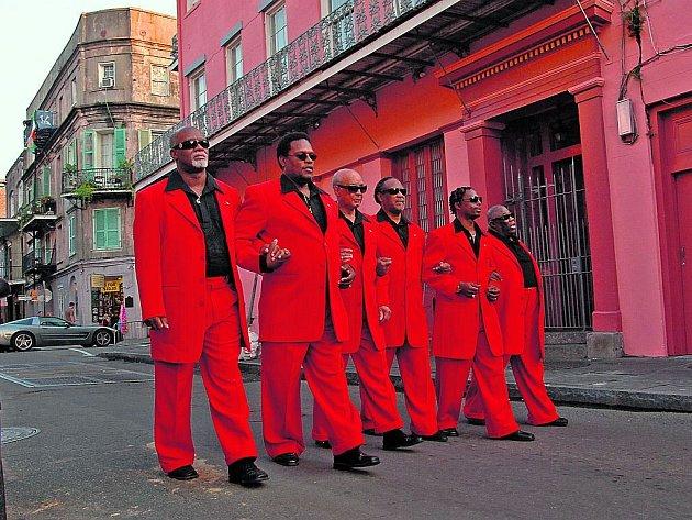 Blind Boys Of Alabama (Ricky McKinnie na snímku první zleva)
