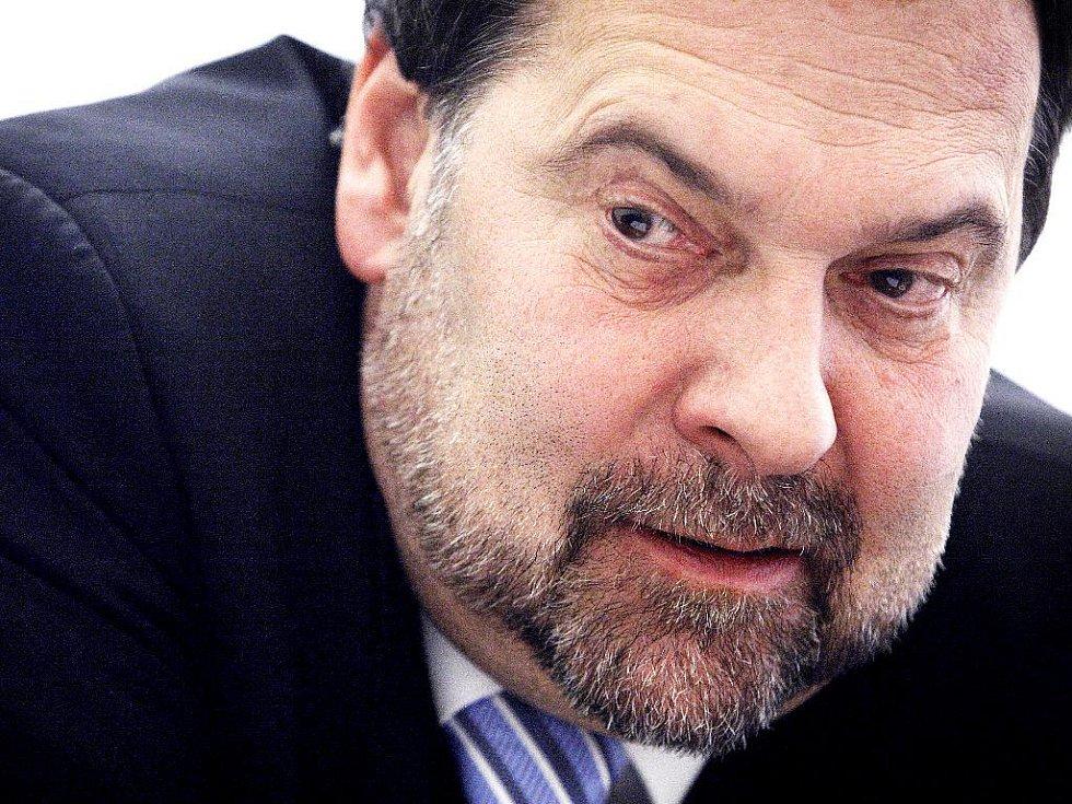 Předseda strany Věcí veřejné Radek John.