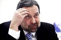 Předseda strany Věcí veřejné v letech 2011 až 2013 Radek John.