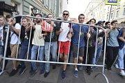 Protesty v Rusku proti důchodové reformě. Akci pořádal Alexej Navalnyj 9. září 2018.