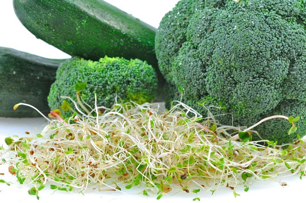 Pestrý jídelníček nám může přirozenou cestou zajistit všechny potřebné vitamíny.