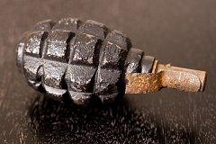 Ruční granát z druhé světové války, ilustrační foto