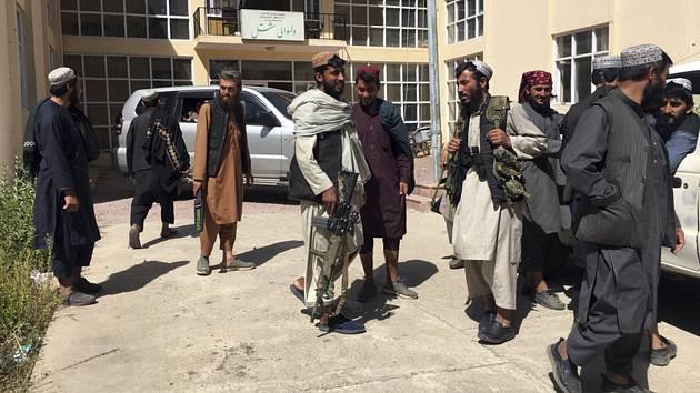 Bojovníci Tálibánu v provincii Pandžšír.
