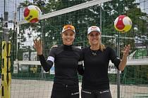 Elitní česká dvojice Markéta Nausch Sluková (vlevo) a Barbora Hermannová.