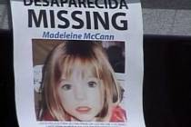 Pohřešovaná britská holčička Madeleine McCannová.