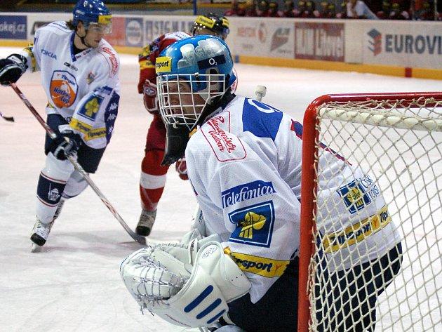 Martin Prusek ještě v dresu Vítkovic.