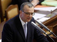 Miroslav Kalousek ve sněmovně