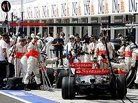 Fernando Alonso a Lewis Hamilton, McLaren