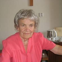 Nositelka medaile Za zásluhy o stát Anna Honová Krmenčíková