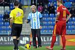Rok 2014: Ondřej Bank zahájil fotbalový zápas Mladé Boleslavi s Duklou