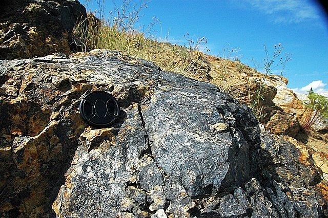 Jedním z nejznámějších geologických útvarů se zlatými žilami je Emma v Montaně