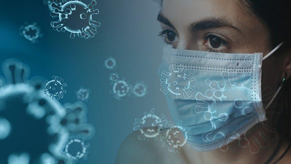 Volby, karanténa, koronavirus. Ilustrační foto