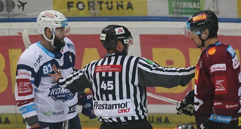 Extraliga, 8. kolo, Sparta Praha - Kometa Brno