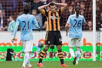 Hull - Manchester City: Domácí Jake Livermore spálil šanci