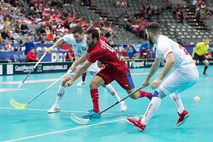 Čeští florbalisté porazili Švýcarsko