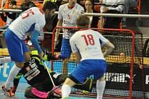Čeští florbalisté prohráli se Švýcarskem