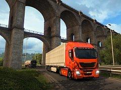 Počítačová hra Euro Truck Simulator 2: Vive la France.