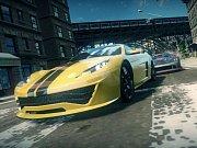 Počítačová hra Ridge Racer Unbounded.