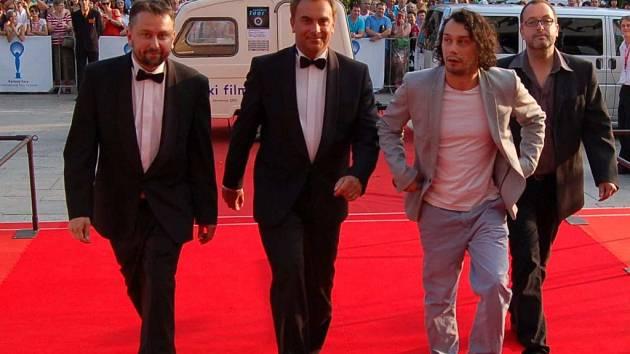 Polski film na festivalu v Karlových Varech: Herci na červeném koberci