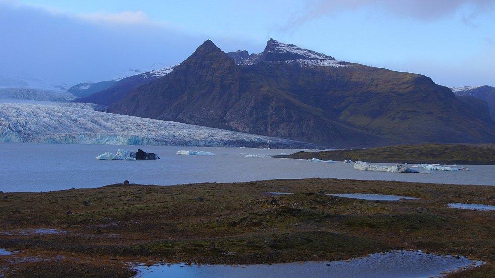 Islanský národní park Vatnajökull je největším v Evropě.