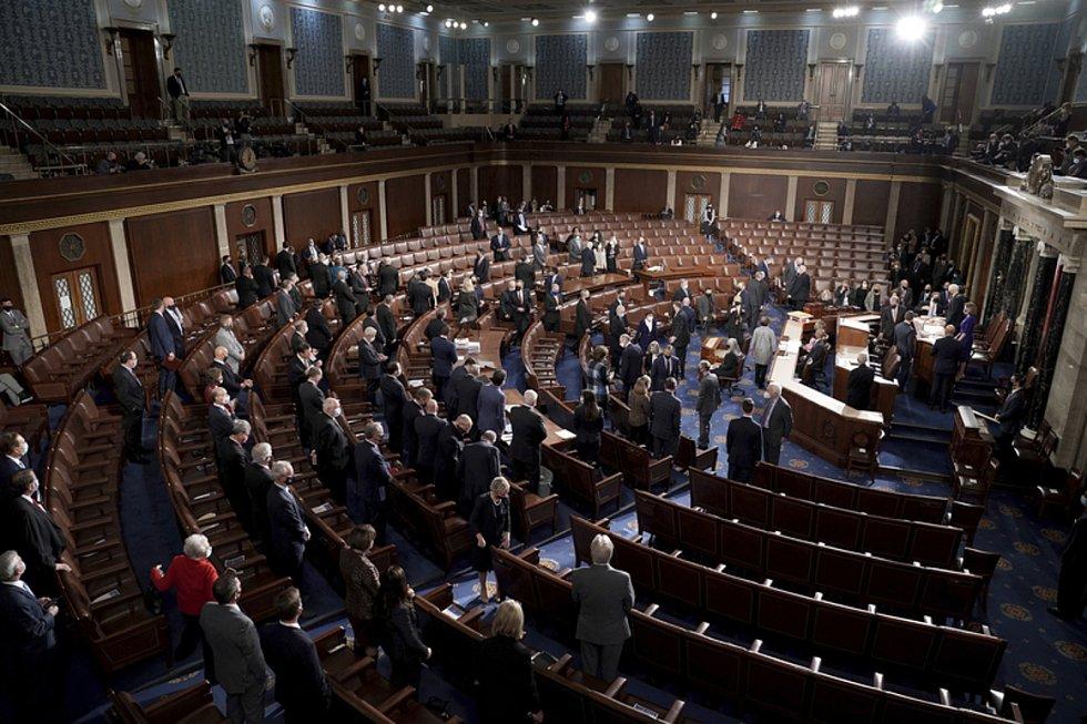 Zasedání Kongresu ve Washingtonu