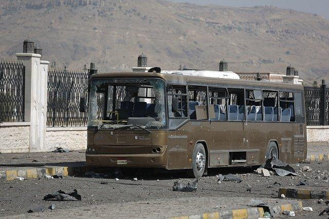 Podle jemenského ministerstva zdravotnictví zemřelo po vzdušném útoku Saúdské koalice 43 lidí a dalších 61 bylo zraněno. Ilustrační foto.