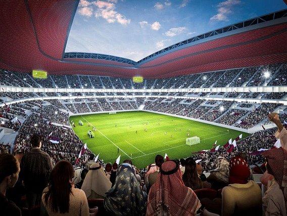 Ilustrační foto. Tak má vypadat stadion na MS v Kataru