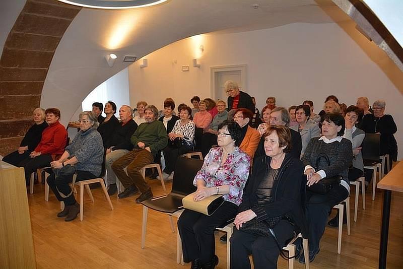O Univerzitu třetího věku je v Českém Brodě zájem od samého začátku