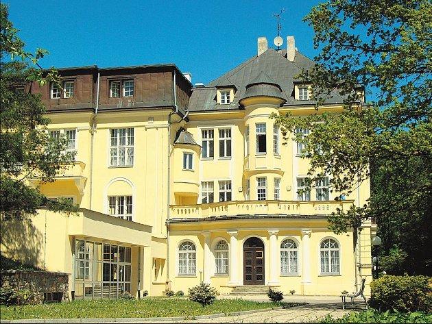 Lázeňský dům v Teplicích nad Bečvou.