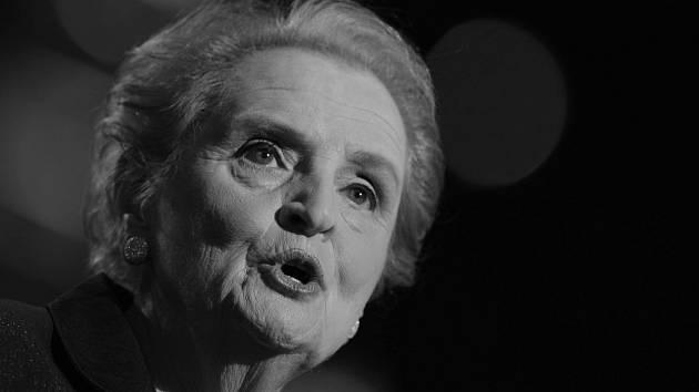 Bývalá ministryně zahraničí USA Madeleine Albrightová.