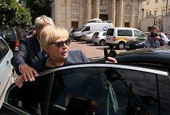 Předsedkyně nejvyššího soudu Malgorzata Gersdorfová.